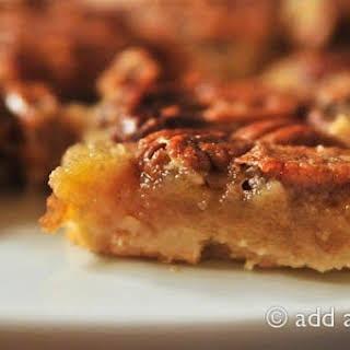 Southern Pecan Pie Bars.