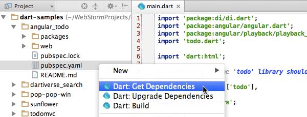 Dart plugin for IntelliJ IDEA and WebStorm