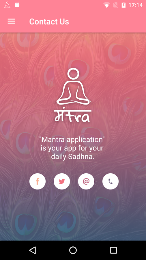 Mantra- screenshot