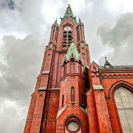 Up 2 by Richard Michael Lingo - Buildings & Architecture Places of Worship ( buildings, church, norway, worship, architecture )