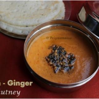 Onion Ginger Chutney