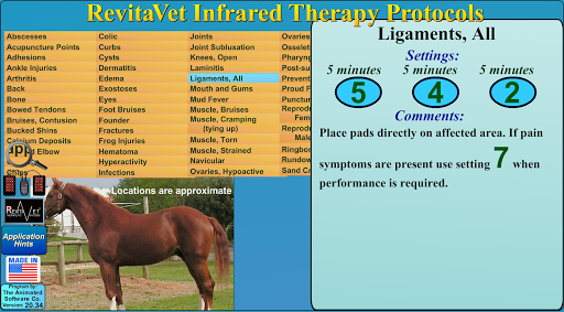 RevitaVet Infrared Therapy 20.60 screenshots 5
