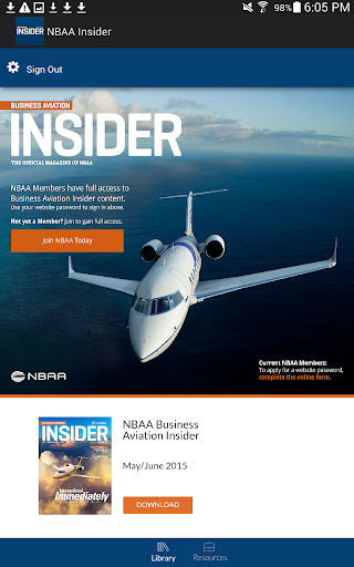 NBAA Business Aviation Insider