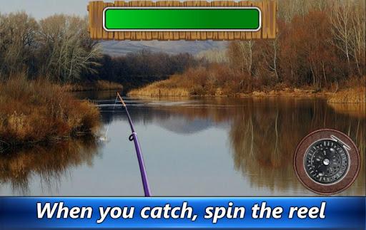 Fishing rain - fishing online  captures d'écran 1