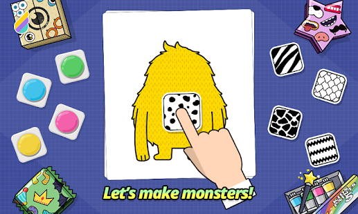 MonSticky - Decorate Monsters- screenshot thumbnail