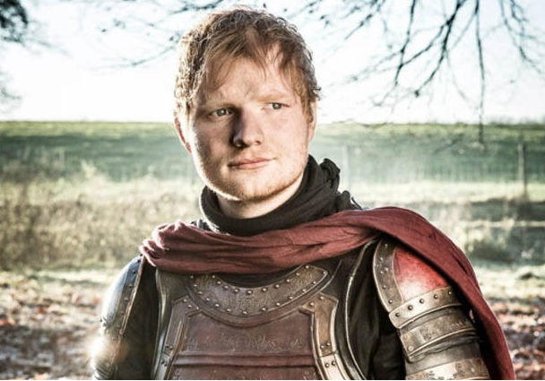 Ed Sheeran was a massive hit on the latest season of Game of Thrones.
