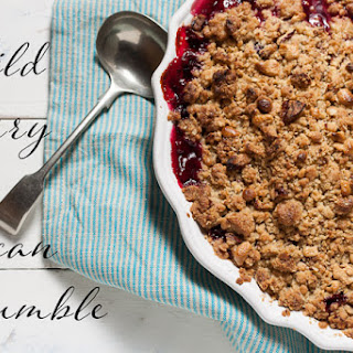 Wild Berry Pecan Crumble