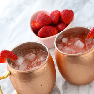 Valentine Moscow Mule Cocktail