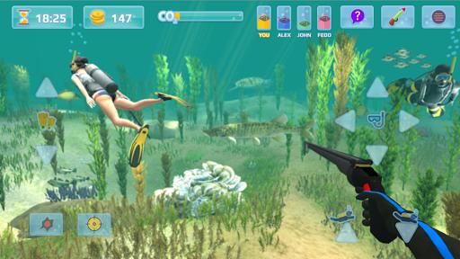 Hunter underwater spearfishing screenshots 1