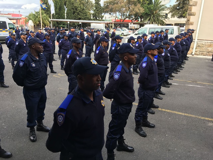 The railway cops will be part of a 100-strong team jointly funded by the provincial and municipal government and the Passenger Rail Agency of SA' in a R48-million year-long pilot project.