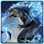 Neon Godzilla Thunder Theme icon