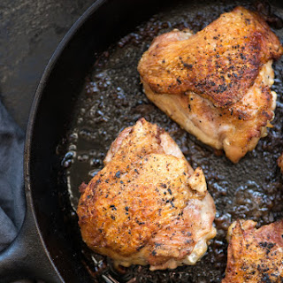 Cast Iron Skillet Chicken Thighs