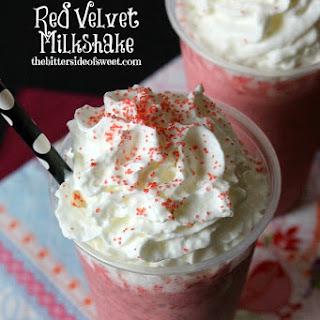 Red Velvet Milkshake.