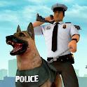 US Police Dog Simulator : City Crime Chase Games icon