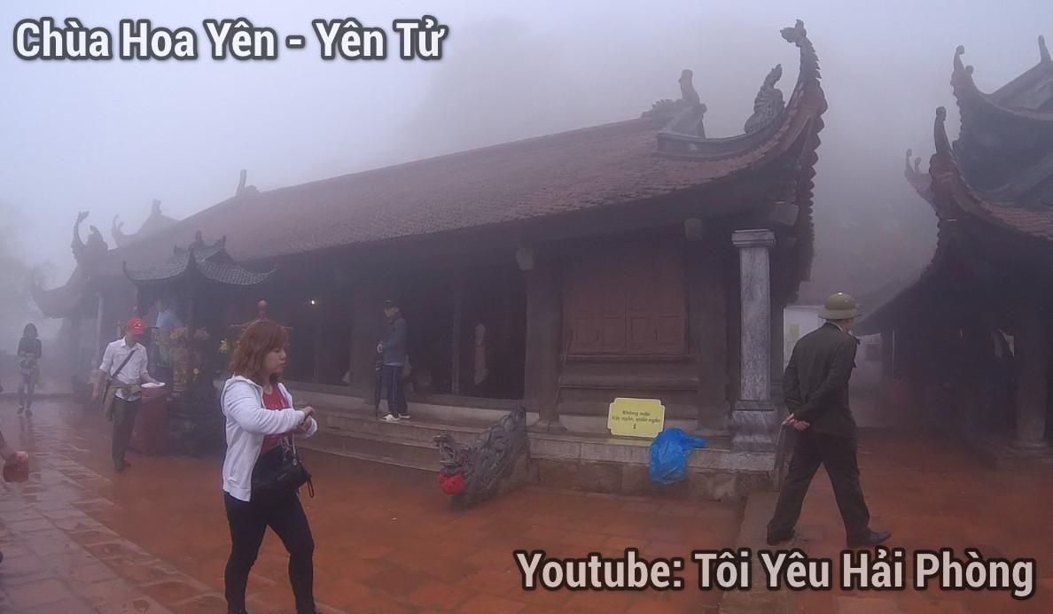 chùa hoa hiên núi yên tử 1
