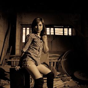 garage by Michael Olino - People Portraits of Women