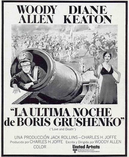 La última noche de Boris Grushenko (1975, Woody Allen)
