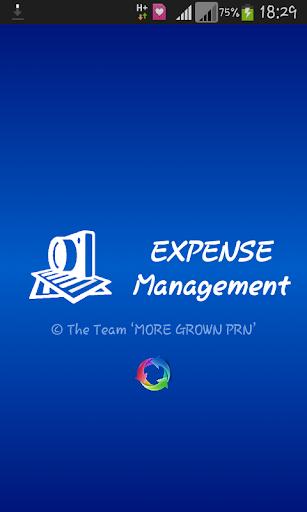 EXPENSE Management free app