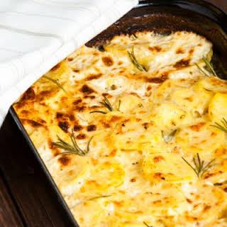Crockpot Cheesy Potato Casserole.