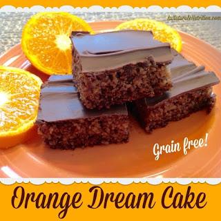 Orange Dream Cake - Au Naturale!