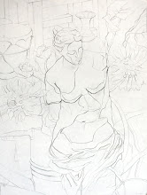 Photo: pencil line drawing // still life