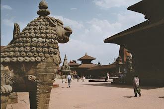 Photo: Durbar Square von Bhaktapur