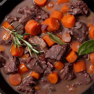 Instant Pot Beef Bourguignon.