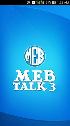 MEB Talk 3