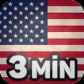 Aprender americano en 3 min icon