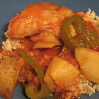 Homemade Chicken Afritada