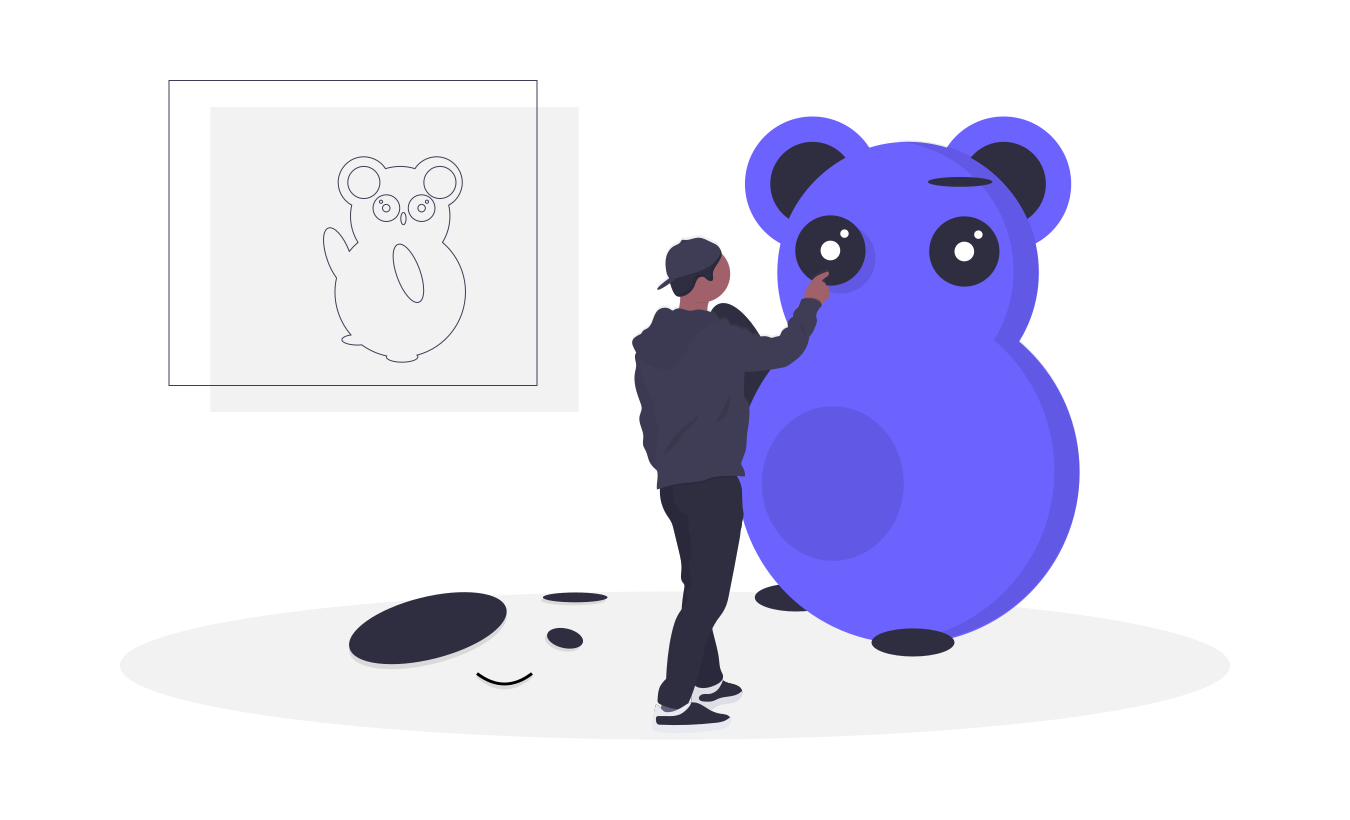 unDraw, open-source illustrations built-in SVG, free and without attribution