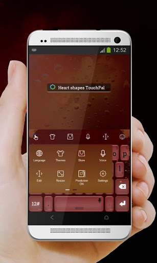 玩免費個人化APP|下載心臟形狀 TouchPal 皮膚Pífū app不用錢|硬是要APP