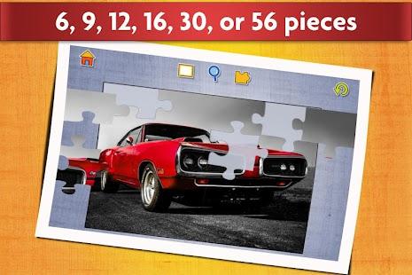 sports car jigsaw puzzles game kids adults screenshot thumbnail