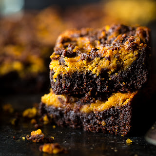 Peanut Butter Cookie Dough Stuffed Vegan Brownies
