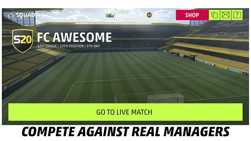 SEASON 20 Pro Football Manager 3.4.4 screenshots 5