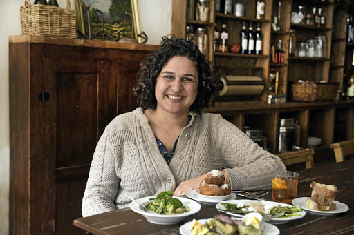 Humour: Samin Nosrat, an accomplished chef and natural teacher, began her career at Chez Panisse in Berkeley, California. Picture: SUPPLIED