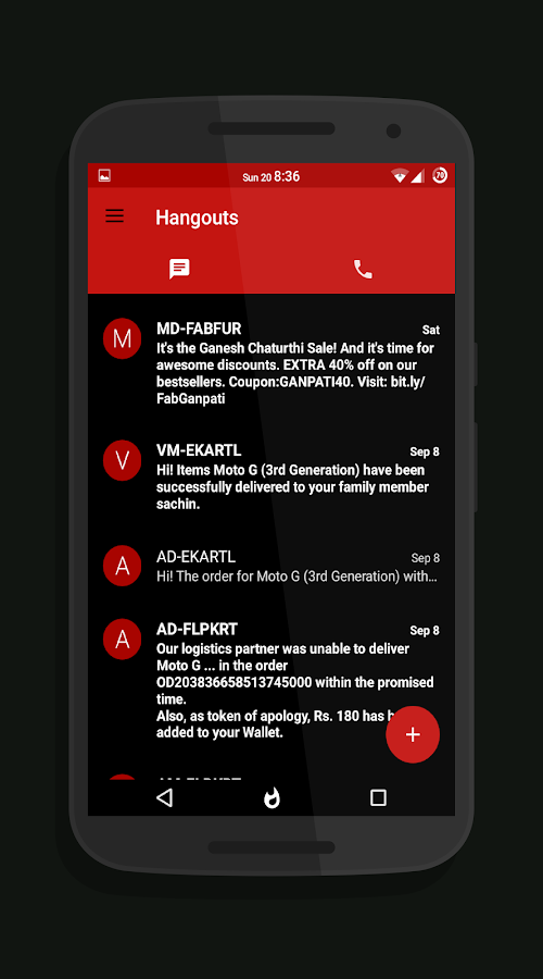 Blazing Red Layers Android Apps On Google Play