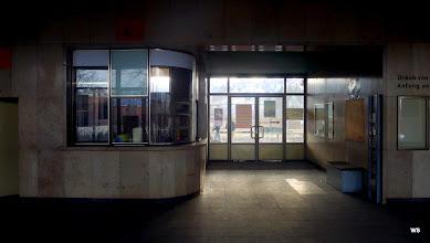 Photo: Bahnhof Schwäbisch Hall / Schalterhalle (geschlossen)