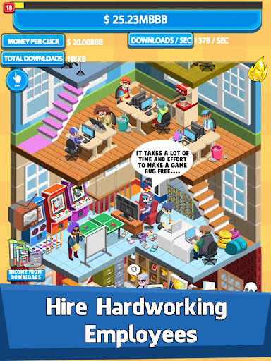 Video Game Tycoon - Idle Clicker & Tap Inc Game 1.21 screenshots 3