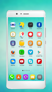 Theme and Launcher for Huawei P9 - náhled
