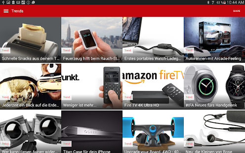 Upcoming Gadgets Deals Trends- screenshot thumbnail