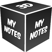3D My Notes Live Wallpaper