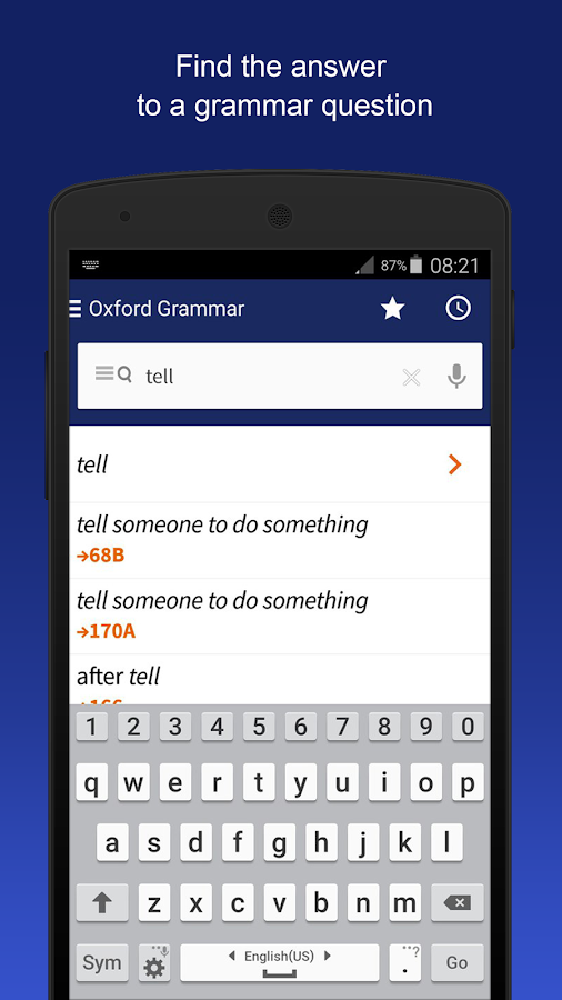 Oxford Learner's Quick Grammar- screenshot
