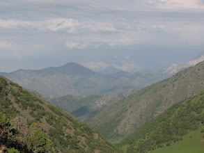 Photo: Kum-Bel Pass (Malyaran-Djash), view to Djash