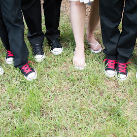 Mama and Her Boys by Roberta Lott-Holmes - Wedding Groups (  )