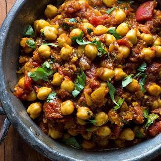 Chickpea Curry (Chhole)