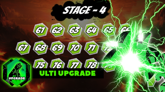 Battle Fight Of Ultimate Alien Bens Upgrade Power - náhled
