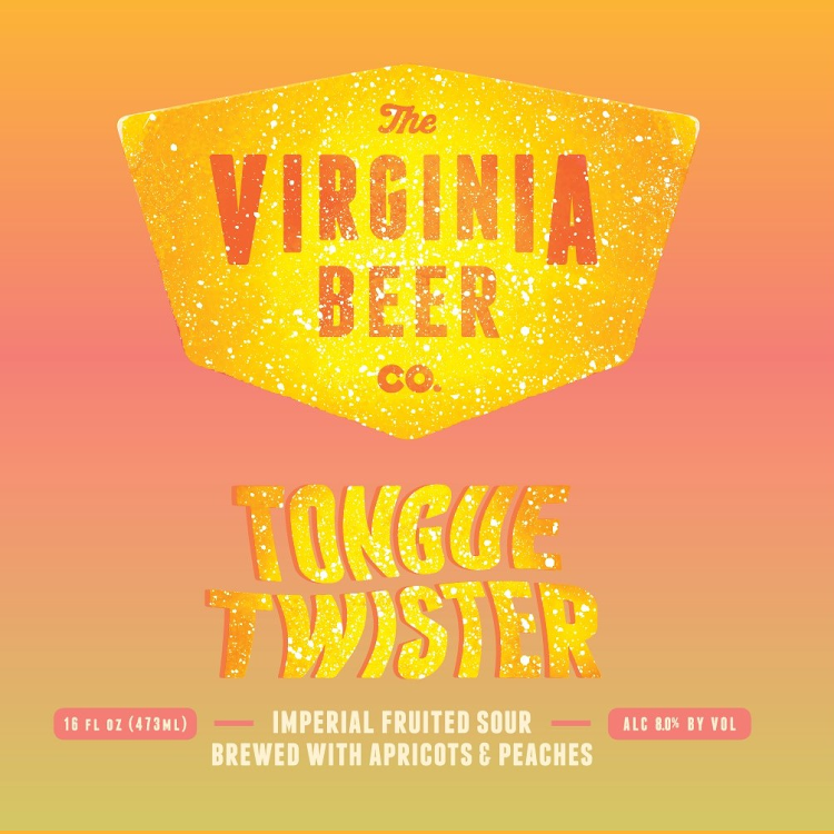 Logo of Virginia Beer Co. Tongue Twister