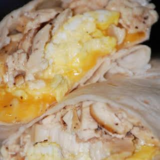 Chicken Egg Wrap.