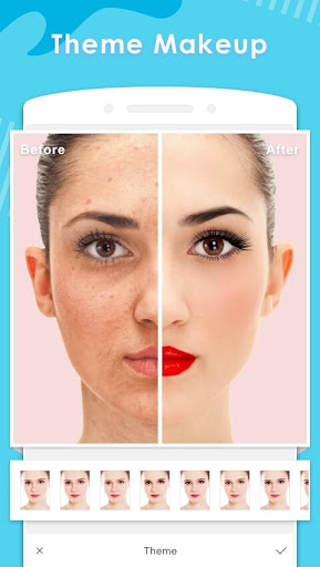 Makeup Camera ❤️ Selfie Beauty Filter Photo Editor 1.89 screenshots 1